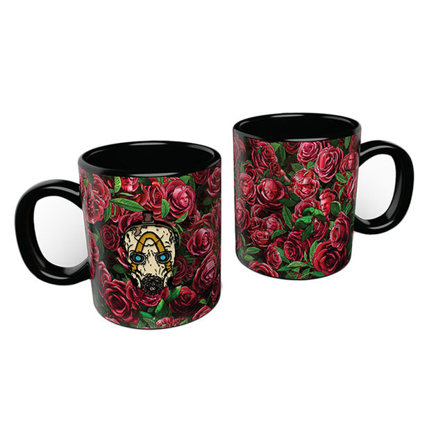 Borderlands 3: Psycho Heat Changing Mug