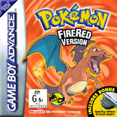 Pokemon: FireRed for Game Boy Advance