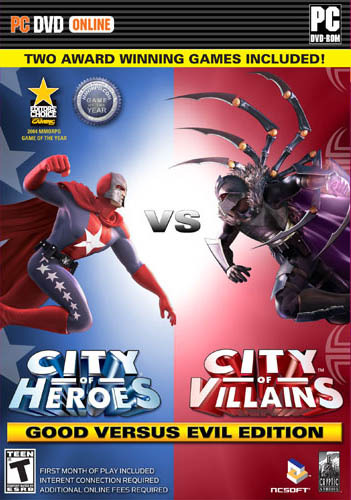 City of Heroes: Good versus Evil Edition (includes City of Villains) for PC Games