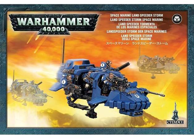 Warhammer 40,000 Space Marine Land Speeder Storm