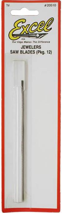 Excel Jewellers Saw Blades #4/0 (12pk)