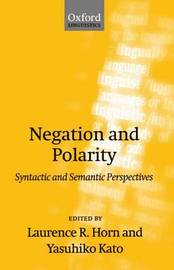 Negation and Polarity image