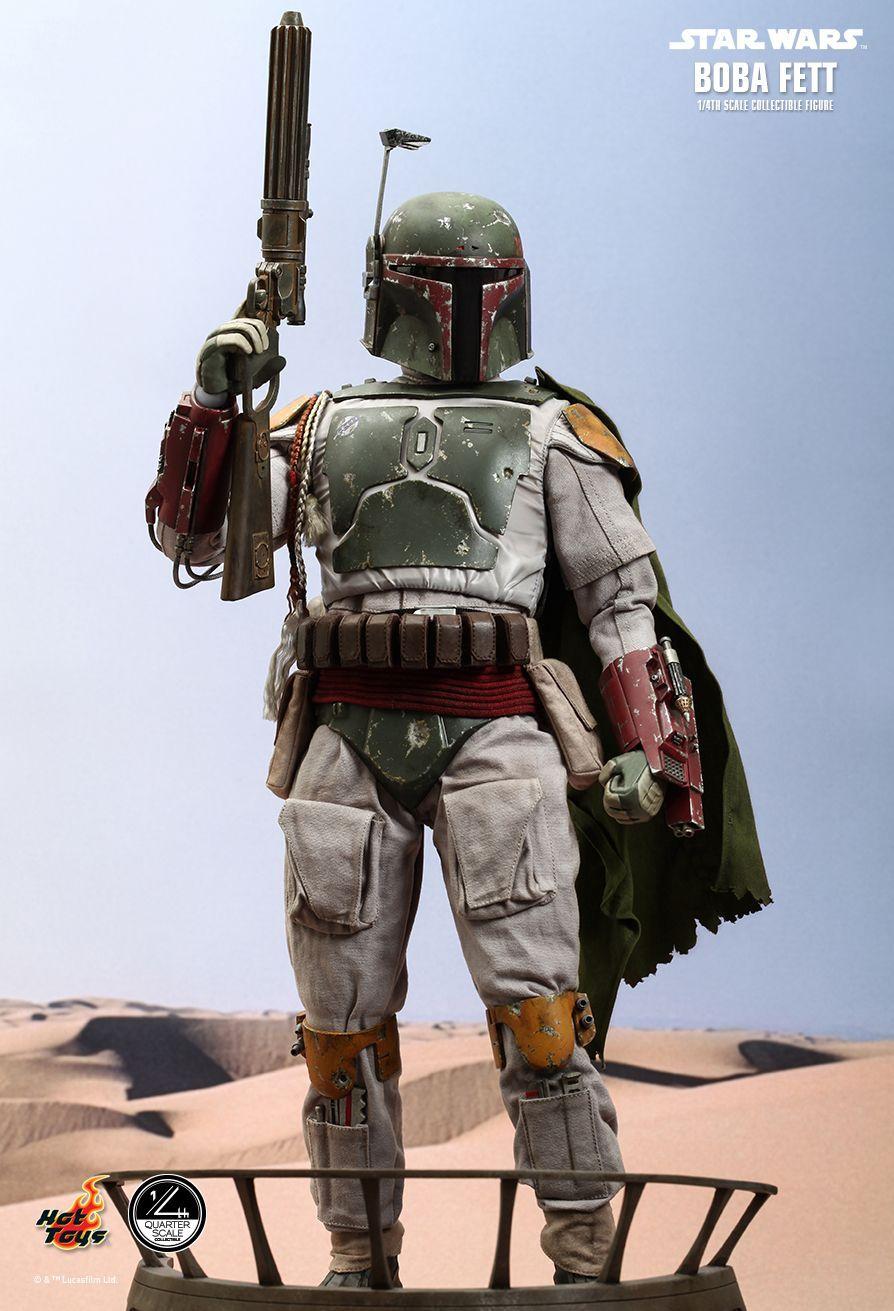 Sideshow Star Wars - Boba Fett 1/4 Scale Figure image