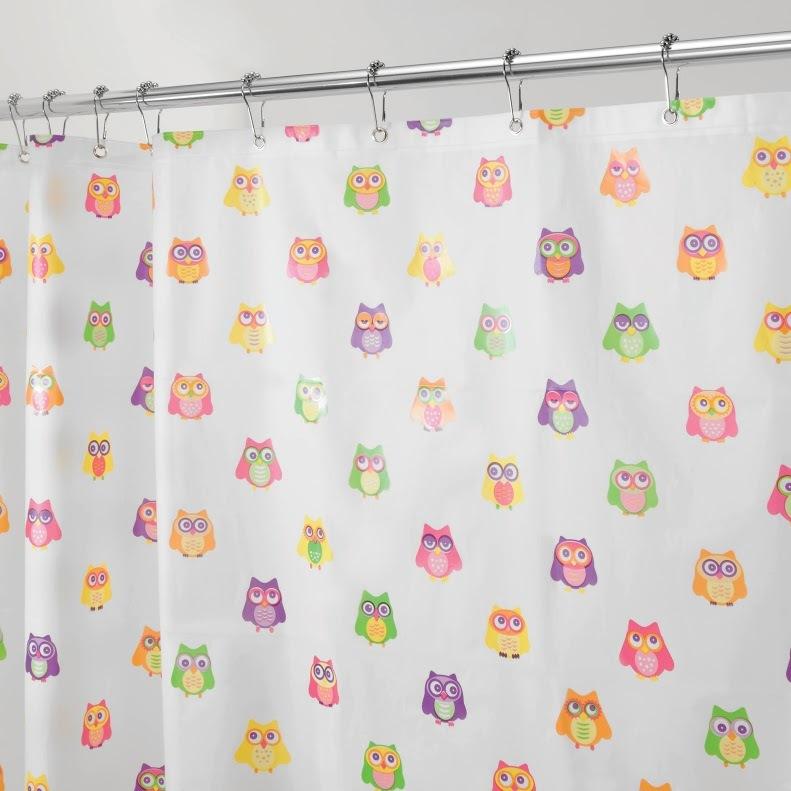 Interdesign Shower Curtain - Owlz image