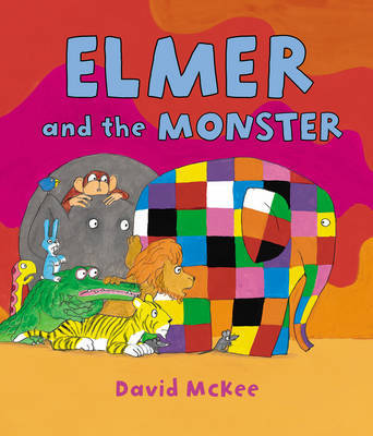 Elmer and the Monster by David McKee image