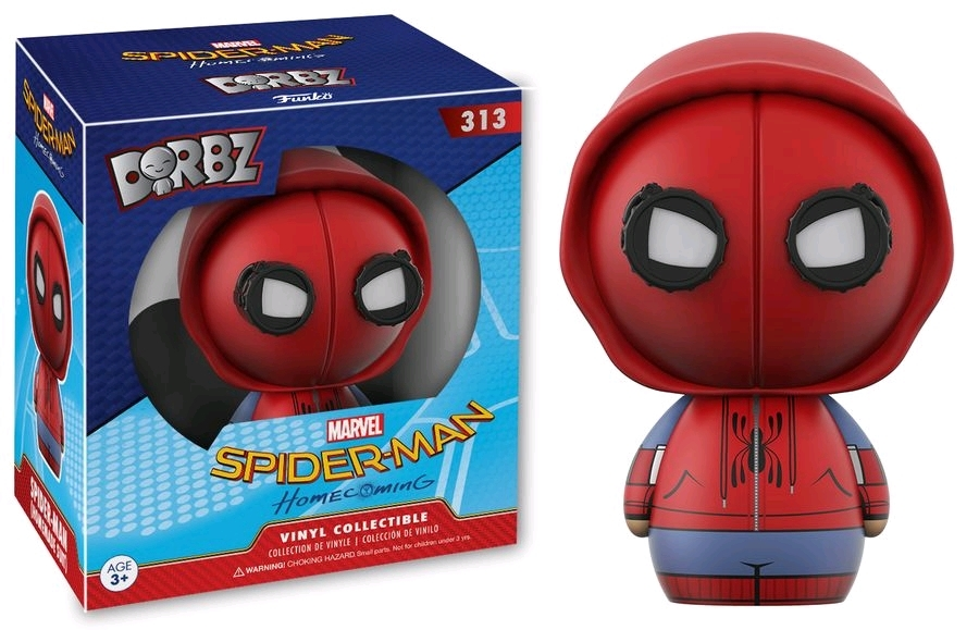 Spider-Man: Homecoming - Spider-Man (Homemade Suit) Dorbz Vinyl Figure image