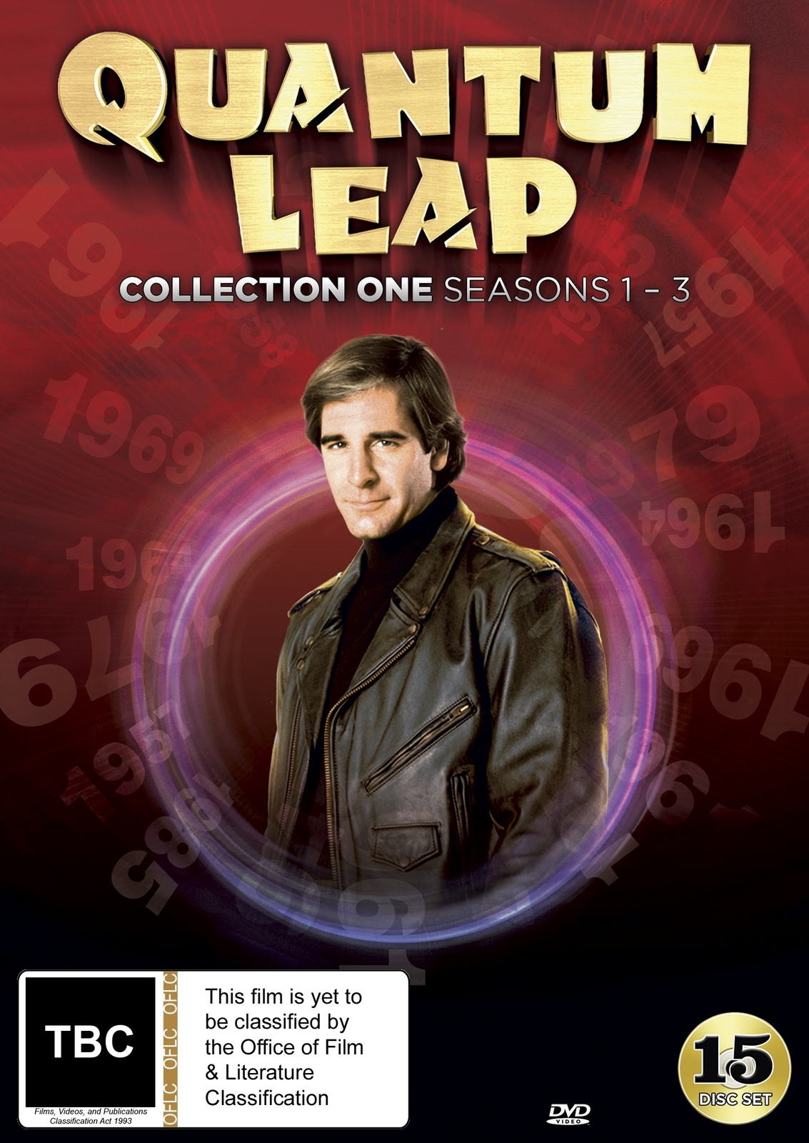 Quantum Leap - Collection 1 (Seasons 1-3) on DVD image