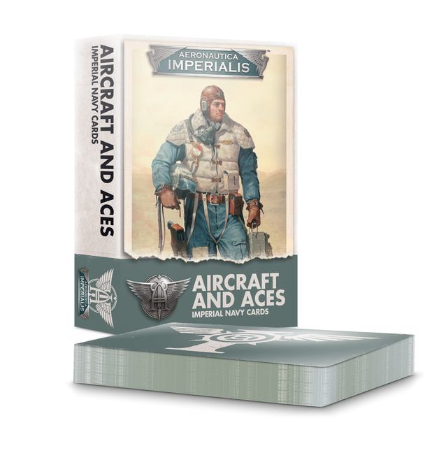 Aeronautica Imperialis: Aircraft & Aces Imperial Navy - Cards