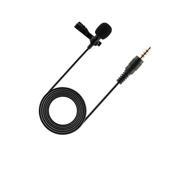Professional Lavalier Lapel Microphone (Lightning)