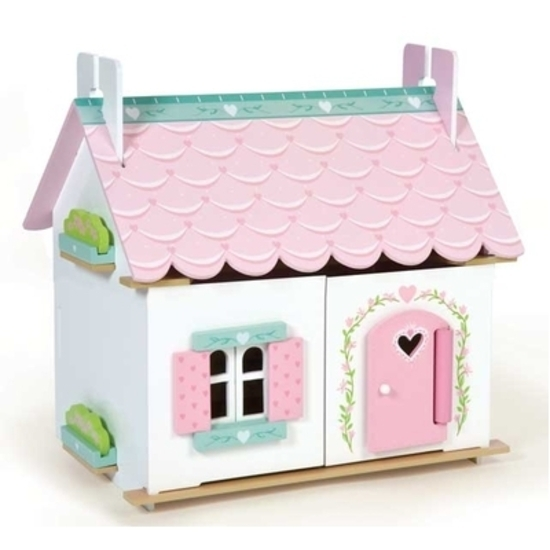 Le Toy Van Lily S Cottage With Furniture Toy At Mighty Ape