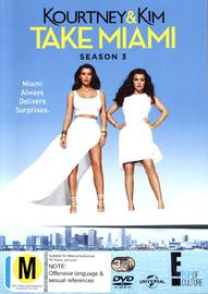 Kourtney & Kim Take Miami - Season 3 on DVD