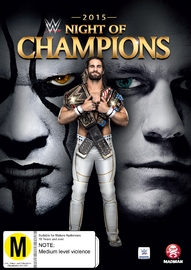 WWE: Night Of Champions 2015 on DVD