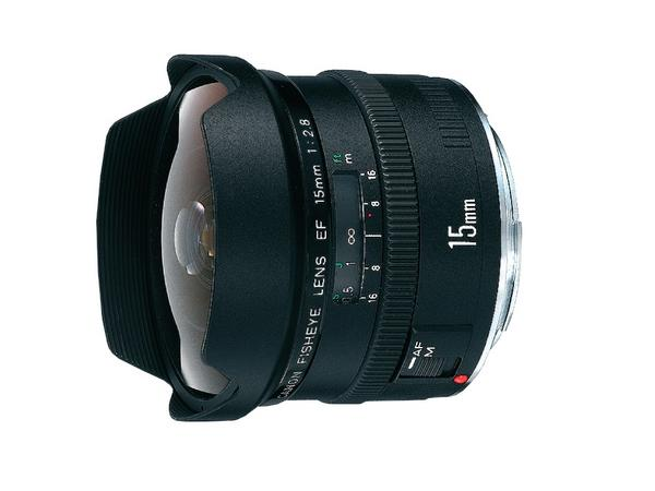 Canon Ultra-Wide and Wide Lens EF 15mm/F2.8 Fisheye image