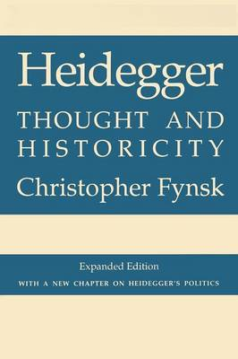 Heidegger by Christopher Fynsk image