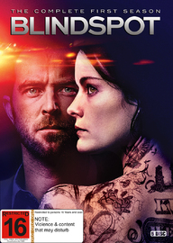 Blindspot - The Complete First Season on DVD