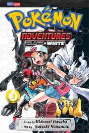 Pokemon Adventures: Black and White, Vol. 3 by Hidenori Kusaka