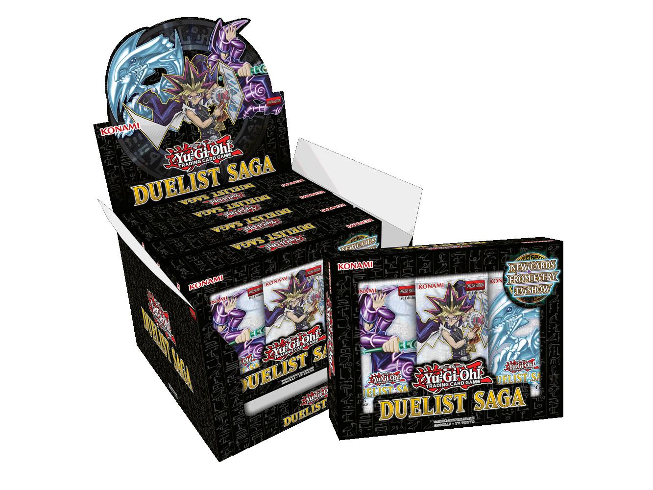 Yu-Gi-Oh! Duelist Saga Booster Box image