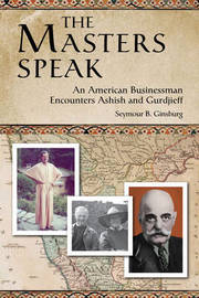 The Masters Speak by Seymour B. Ginsburg image