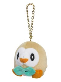 Pokemon: Plush Mascot Charm (Rowlet)