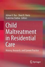 Child Maltreatment in Residential Care image