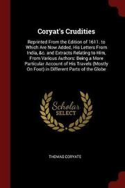 Coryat's Crudities by Thomas Coryate image