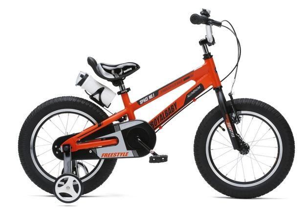 """RoyalBaby: Space No.1 RB-17 - 16"""" Alloy Bike (Orange)"""