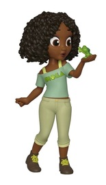 Disney - Comfy Tiana Rock Candy Vinyl Figure