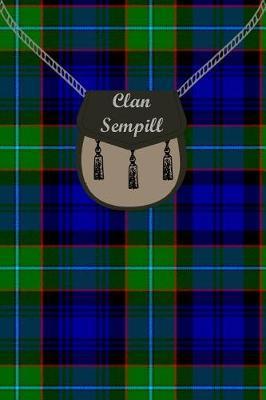 Clan Sempill Tartan Journal/Notebook by Clan Sempill