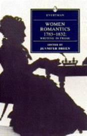 Women Romantics 1785-1832: Writing in Prose image
