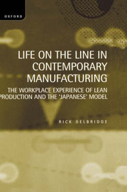 Life on the Line in Contemporary Manufacturing by Rick Delbridge image