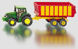 Siku: John Deere with Silage Trailer