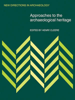 New Directions in Archaeology by Henry Cleere
