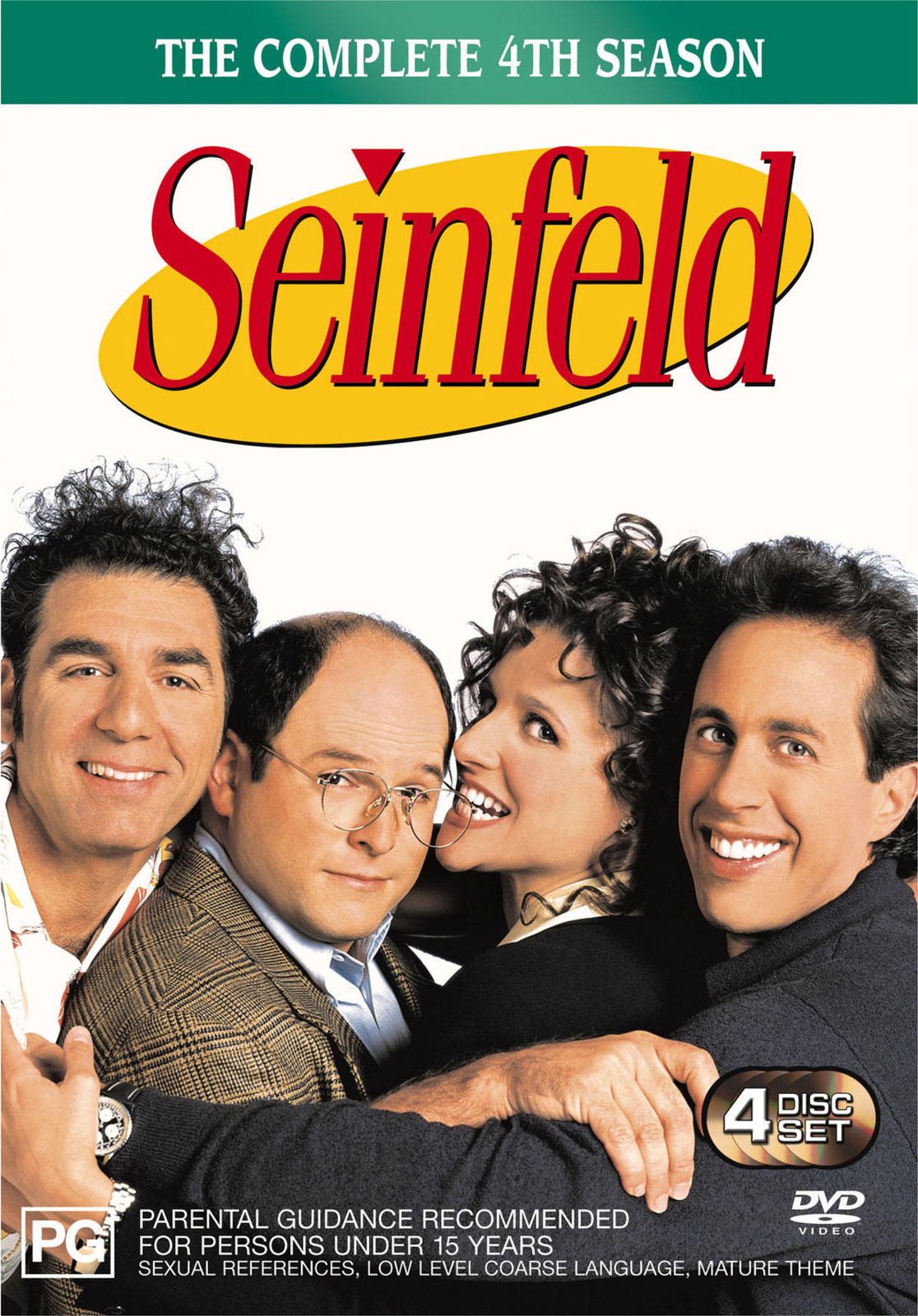 Seinfeld - The Complete 4th Season on DVD image