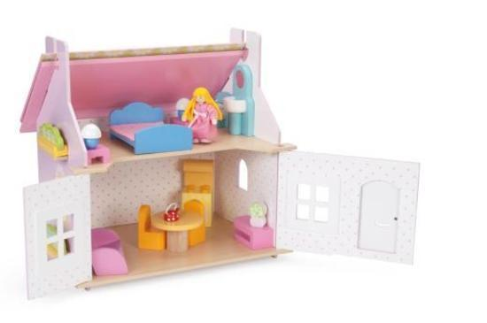 Le Toy Van: Lily's Cottage (with furniture) image