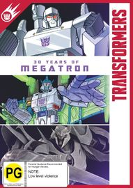 Transformers: 30 Years of Megatron on DVD image