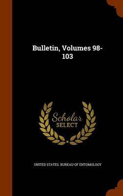 Bulletin, Volumes 98-103
