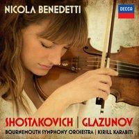 Shostakovich: Violin Concerto No.1 / Glazunov: Violin Concerto by Nicola Benedetti