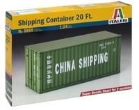 Italeri: 1:24 Shipping Container (20 Ft) - Model Kit