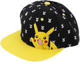 Pikachu Black Flat Peak Cap