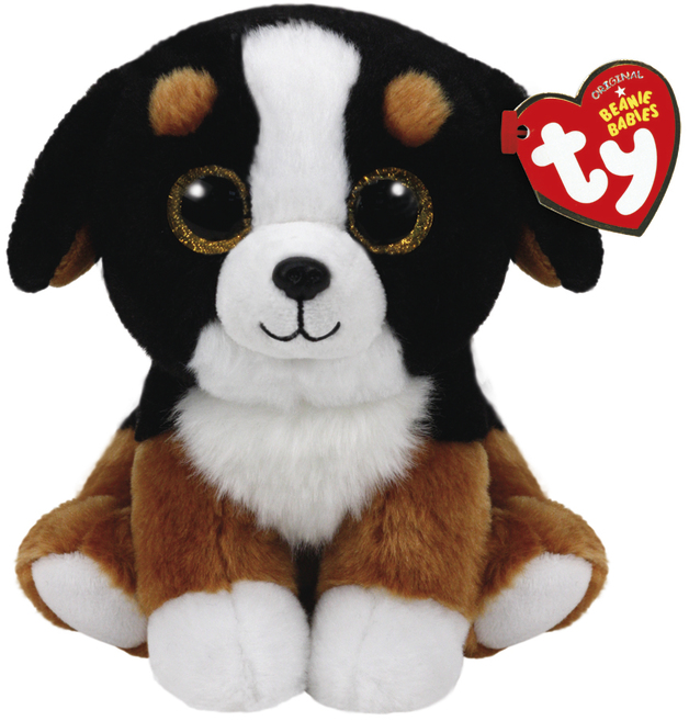 Ty Beanie Babies: Roscoe Dog - Small Plush