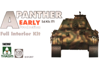 Takom: 1/35 Panther Interior Kit (Early Ver.) - Model Kit