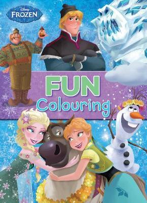 Disney Frozen Fun Colouring by Parragon Books Ltd
