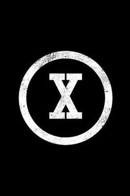X by X Monogram Journal