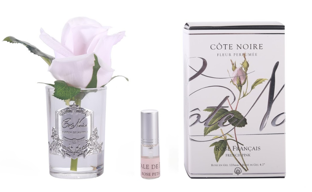 Cote Noire: Clear Rose Bud French Pink, with Fragrance spray