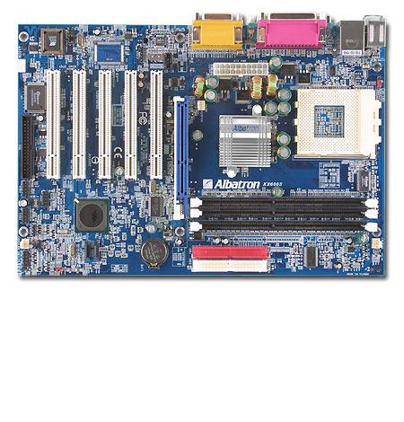 Albatron Motherboard KX600S - SKT A SATA+5.1 SOUND - 400FSB