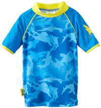 Fin Frenzy Short Sleeve Swim T-Shirt (Size 0)