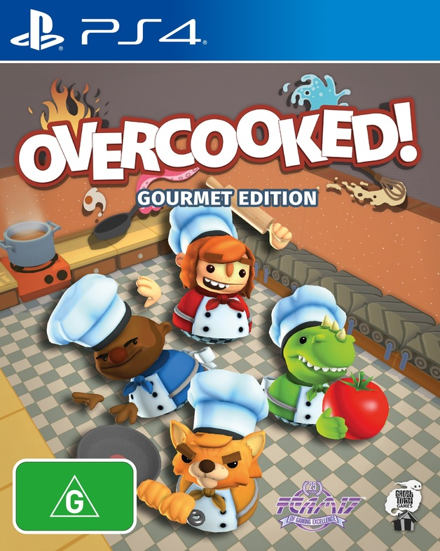 Overcooked Gourmet Edition for PS4