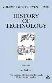 History of Technology: v. 27 image