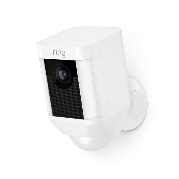 Ring: Spotlight Camera with Battery - White