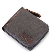 Troop London: Pueblo Canvas Wallet - Black
